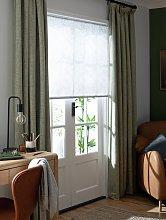Habitat Floral Sheer Daylight Roller Blind - 4ft -