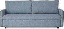 Habitat Freddy 2 Seater Fabric Sofa Bed - Blue
