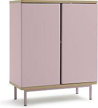 Habitat Freja 2 Door Cabinet - Pink