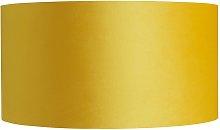 Habitat French Velvet 25cm Shade - Yellow