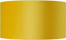 Habitat French Velvet 49cm Shade - Yellow