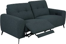 Habitat Ghost 3 Seater Fabric Power Recliner Sofa
