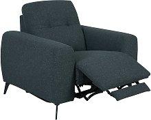 Habitat Ghost Fabric Power Recliner Chair -