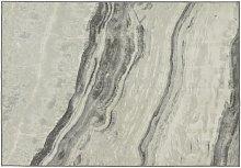Habitat Glam Marble Rug - 120x170cm - Grey