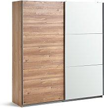 Habitat Holsted Oak Effect & Mirror Wardrobe