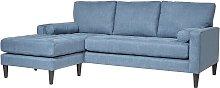 Habitat Hudson Reversible Corner Fabric Sofa -