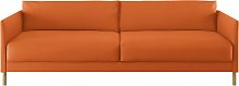 Habitat Hyde 3 Seater Fabric Sofa Bed - Orange