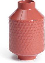 Habitat Industrial Vase - Brown