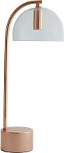 Habitat Ivar Table Lamp - Copper & Glass
