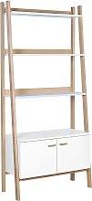 Habitat Jerry 3 Shelf Bookcase - White