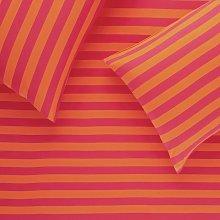 Habitat Jersey Pink and Orange Bedding Set - Single
