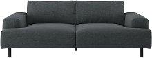 Habitat Julien 3 seater Fabric Sofa - Charcoal