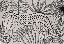 Habitat Jungle Wool Flatweave Rug - 160x230cm