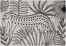 Habitat Jungle Wool Rug - 160x230cm - Multicoloured