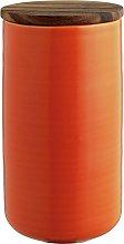 Habitat Kahala Large Storage Jar - Orange