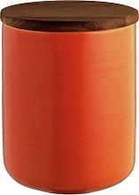 Habitat Kahala Medium Storage Jar - Orange