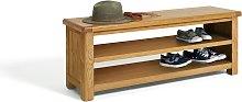 Habitat Kent Shoe Bench - Oak
