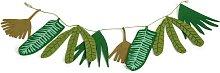 Habitat Kids Tropical Leaf Garland - Green