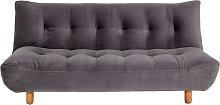 Habitat Kota 3 Seater Velvet Clic Clac Sofa Bed -