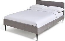 Habitat Kristopher Small Double Bed Frame - Grey