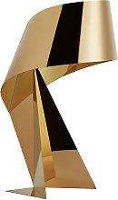 Habitat Large Ribbon Table Lamp - Gold