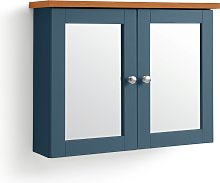 Habitat Livingston Double Mirrored Wall Cabinet -