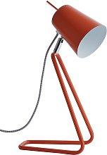 Habitat Lizzie Desk Lamp - Orange