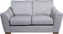 Habitat Lotus 2 Seater Fabric Sofa - Silver