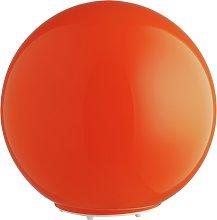 Habitat Louie Glass Table Lamp - Orange & Red
