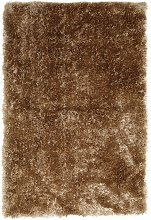 Habitat Luxury Long Pile Rug - 160x230cm - Gold
