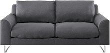 Habitat Lyle 2 Seater Fabric Sofa - Charcoal