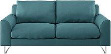 Habitat Lyle 2 Seater Fabric Sofa - Teal