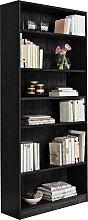 Habitat Maine 5 Shelf Tall & Wide Deep Bookcase -