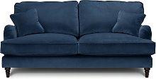 Habitat Matilda 3 Seater Velvet Sofa - Blue