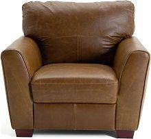 Habitat Milford Leather Chair - Tan