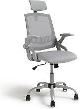 Habitat Milton Mesh Ergonomic Office Chair - Grey