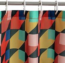 Habitat Multi Square Shower Curtain