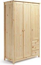 Habitat New Scandinavia 3 Door 3 Drawer Wardrobe -