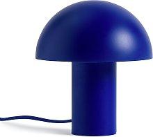 Habitat Ngami Mushroom Touch Table Lamp - Blue