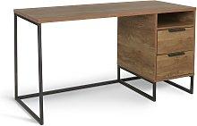 Habitat Nomad 2 Drawer Desk - Oak Effect