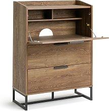 Habitat Nomad 3 Drawer Bureau Desk - Oak