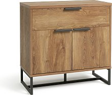 Habitat Nomad Small Sideboard - Oak Effect
