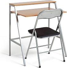 Habitat Office Desk and Chair Set - Black