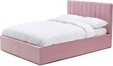 Habitat Pandora Double Ottoman Bed Frame - Pink