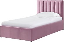 Habitat Pandora Single Ottoman Bed Frame - Pink