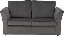 Habitat Paxton 2 Seater Fabric Sofa Bed - Grey