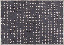 Habitat Penrose Patterned  Wool Rug - 170x240cm -