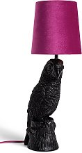 Habitat Petunia the Parrot Table Lamp - Pink and