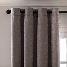 Habitat Plain Chenille Blackout Lined Curtain -