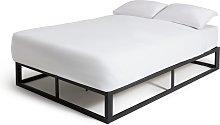 Habitat Platform Small Double Bed Frame - Black
